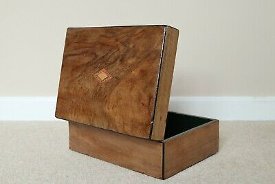 Victorian rosewood document box