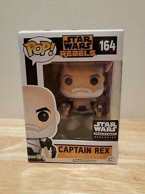 Funko Pop Star Wars Captain Rex #164 Smugglers Bounty Exclusive