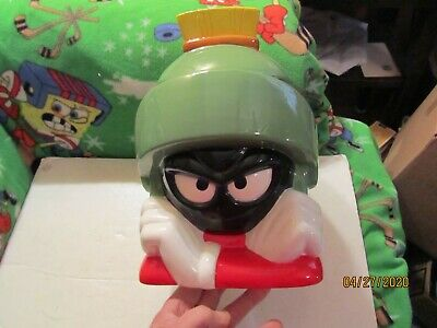 Warner Bros Marvin the Martian Ceramic Cookie Jar Made in China