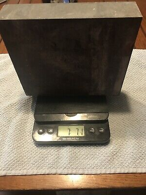 Magnesium plate block 7.7 pounds Weight Nice