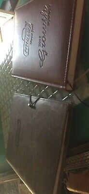 2 Frito Lay leather bound Notebooks