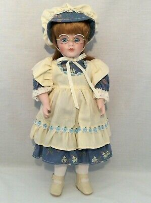 "Vintage CHSN La Collection Artisan 1990 ANNIE LAURIE 14"" doll limited edition"