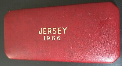 Jersey 1966 4 Coin Proof Set in Original Box of Issue