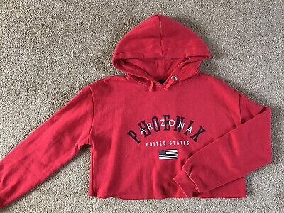 Girls Red New Look Hoody Age 12-13