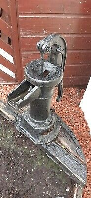 Antique Vintage Cast Iron Water Pump