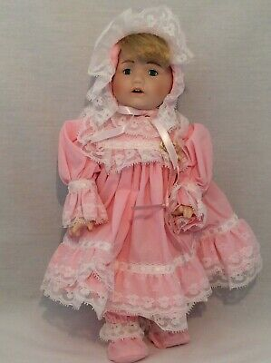 "Vintage CHSN La Collection Artisan 1990 TERRILEE 12"" doll limited edition Music"