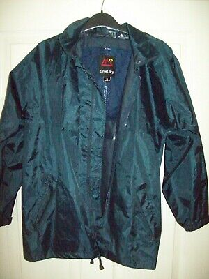Target Dry Coat - Dark Green - Size 32 - Ages 11 /12