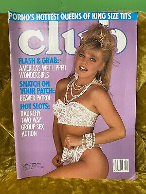 Adult - CLUB Magazine - February 1989 - FREE SHIPPING