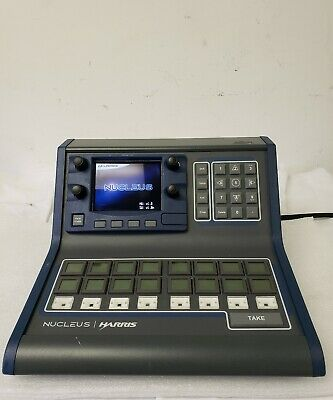 Harris NUCLEUS-DM Broadcast Audio/Video/Media LCD Button Network Control Panel