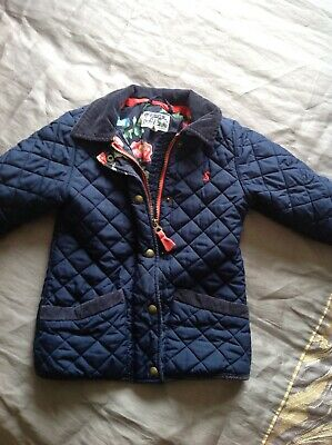 Girls Joules coat age 5 yrs