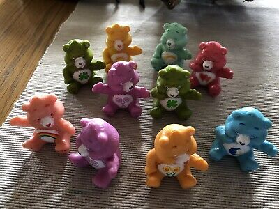 10 Care Bears Cake Topper Figurines Action Figures Boy Girl Kids Toy Gift