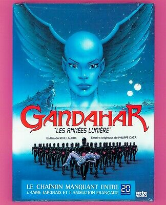 GANDAHAR - DVD - FILM D'ANIMATION DE RENÉ LALOUX - DESSIN CAZA / Science Fiction