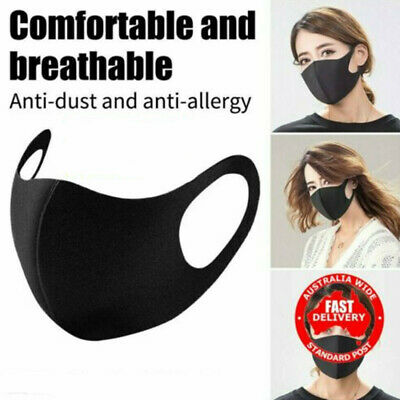 Unisex Anti Dust Pollution Face Mouth Cover Shield Washable Reusable Breathable