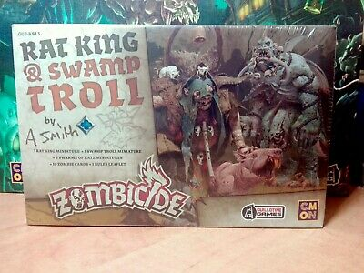 RAT KING & SWAMP TROLL - Zombicide Black Plague / Zombicide Green Horde