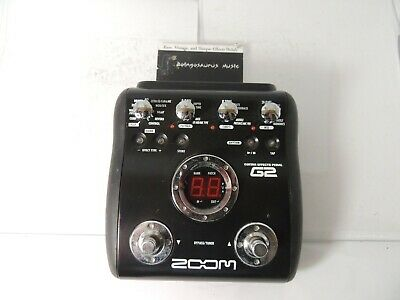 Zoom G2 Guitar Multi Effects Pedal Free USA Shipping