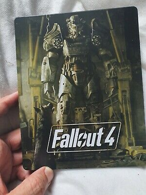 Fallout 4 Ps4/Xbox/PC UK Open Steelbook Excellent Condition - No Game Included