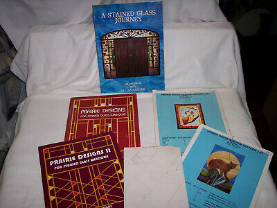 Lot Of Great Stained Glass Pattern Books & Patterns - Advanced Projects; Lot #1
