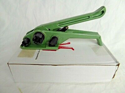 """Poly Strapping Tensioner & Cutter Manual Strapping Tools - 3/8""""-3/4"""" Wide Strap"""