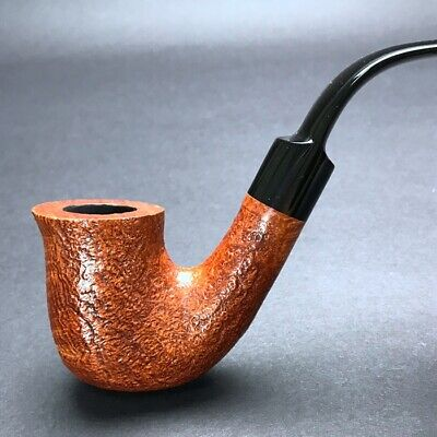 Road Town Peterson's Full Bent Shape Style Briar wood Craft Pipe--unsmoked