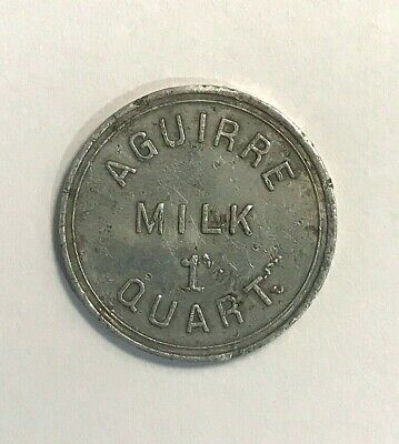 Puerto Rico Token - Central Aguirre Milk 1 Quart