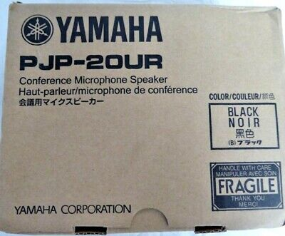 Yamaha Conference Speaker Phone Office USB Audio Microphone PJP-20UR