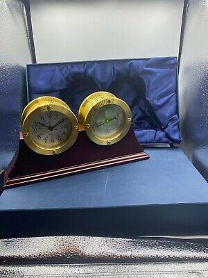 Chass Barometer Brass New in Box