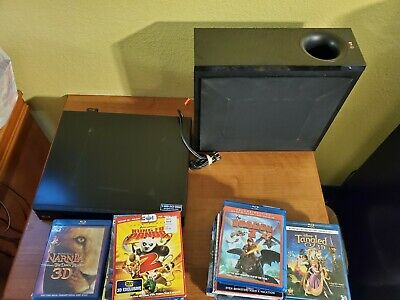 Lg bluray 3d player BH6830 27 movie lot cars despicable me kung fu panda