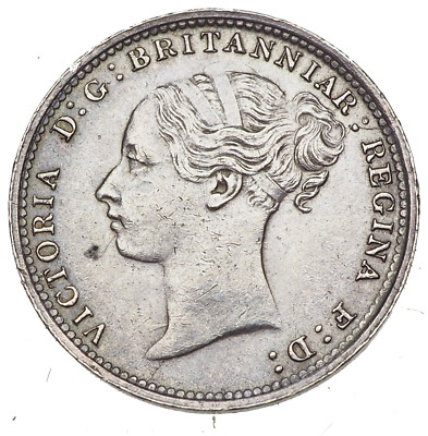 GREAT BRITAIN. Queen Victoria, Silver Threepence, Third bust, 1886