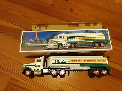 1993 Hess Toy Premium Diesel Tanker Truck(New) Muti-Color,Working Lights