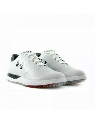 Under Armour UA Performance SL Spikeless Golf Shoes 1297177-101 Mens Size 11.5
