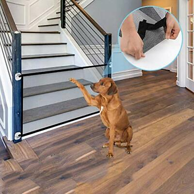 """Magic Gate for Dogs, Goaup Large Magic Guard Safety Fence for (70.8"""" X 29.5"""")"""