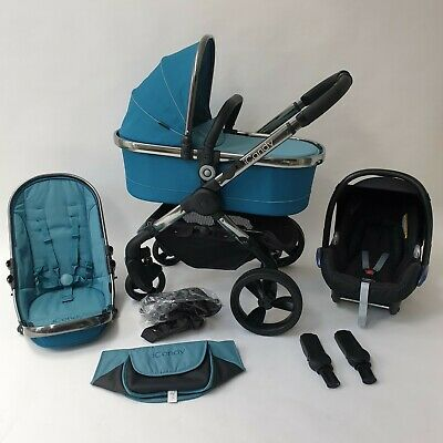 iCandy Peach 3 Truffle Full travel system PUSHCHAIR Pram Stroller+Cybex car seat