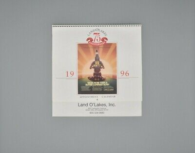 Vintage Land O' Lakes 1996 Calendar 75th Anniversary with Maiden Logo