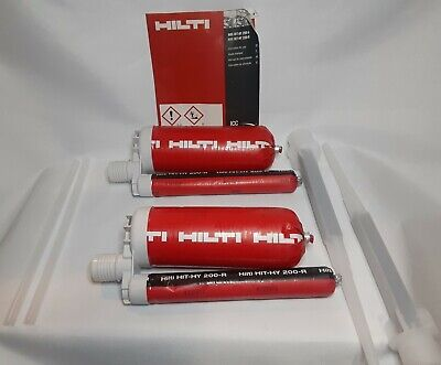 Hilti Fast Set Anchoring Adhesive Injectable Mortar  (hit-hr200-r) 2-pack *New*