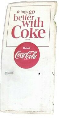 Vintage collectable Things are better with coke calendar