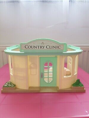 sylvanian families country clinic used furniture included