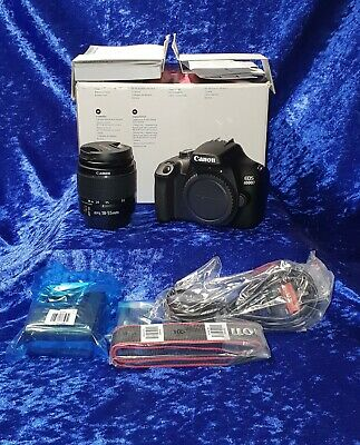 Brand New Canon EOS 4000D 18MP DSLR Camera with 18-55mm EFS Lens, Boxed, Unused