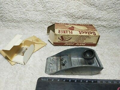 Vintage Tool Hand Plane Razor Blade Planer Aussie Made Boxed Collectible
