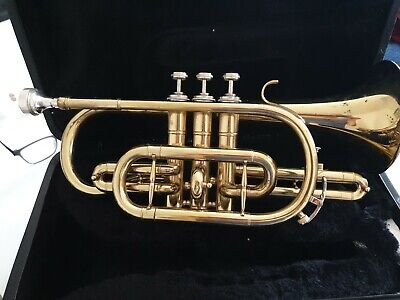 Odyssey Cornet, complete with case and Dennis Wick 4b mouthpiece