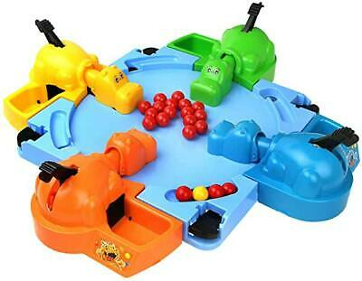 Feeding Hungry Hippo Marble Swallowing Ball Game Feeding interactive kids game