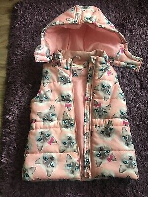Girls Gilet Body Warmer Age 5-6 Years H&M