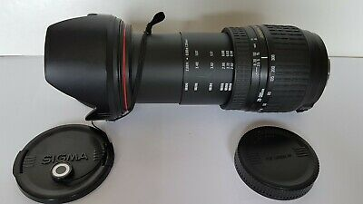 Sigma 28 - 200mm F3.5 - 6.3 DL Hyperzoom Macro Aspherical Lens Canon Fit