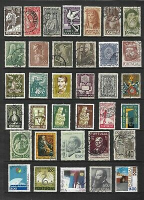 PORTUGAL stamp selection.(ref.837)