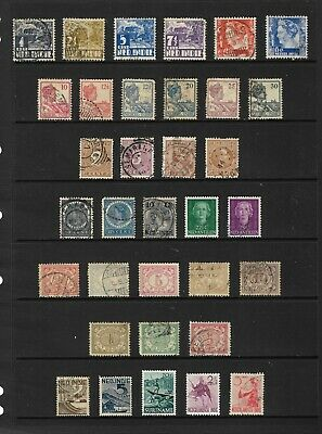 DUTCH COLONIES stamp selection.(ref.829)