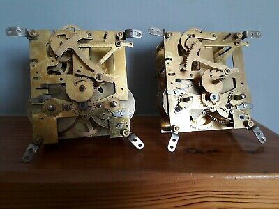Pair of Smiths Perivale clock movements