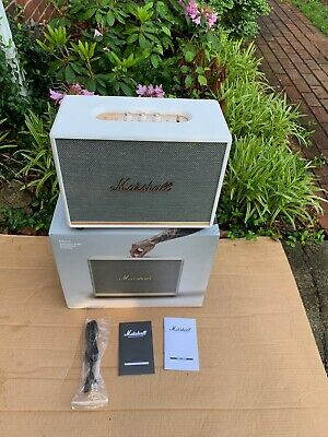 Marshall Woburn II Bluetooth Speaker System - White