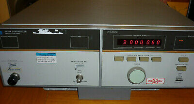 HEWLETT-PACKARD 8671A 2.0-6.2GHz Microwave Frequency Synthesizer HP Agilent