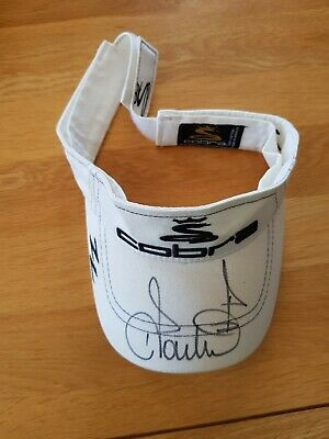 Cobra Golf Visor - Worn And Signed By Ian Poulter