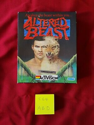 Commodore 64 / C64 - Altered Beast Disk - Boxed (Untested)