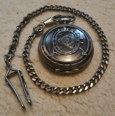 RX7 FD3S Cosmo Gents Pocket Watch and Chain